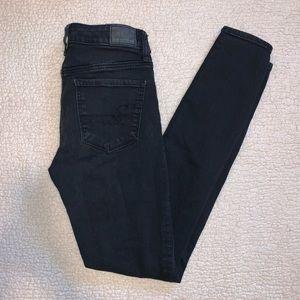 Black American Eagle jeans